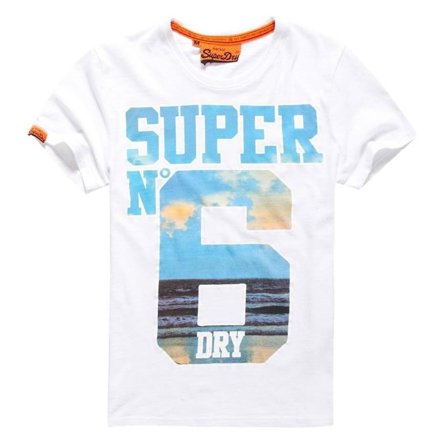 Superdry Super No 6 Tee - dvh optic
