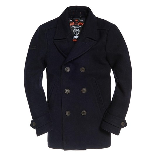 Superdry New Merchant Pea Coat