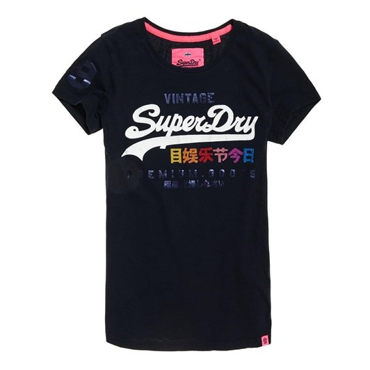 Superdry Premium Goods Rhinestone Pop T-Shirt
