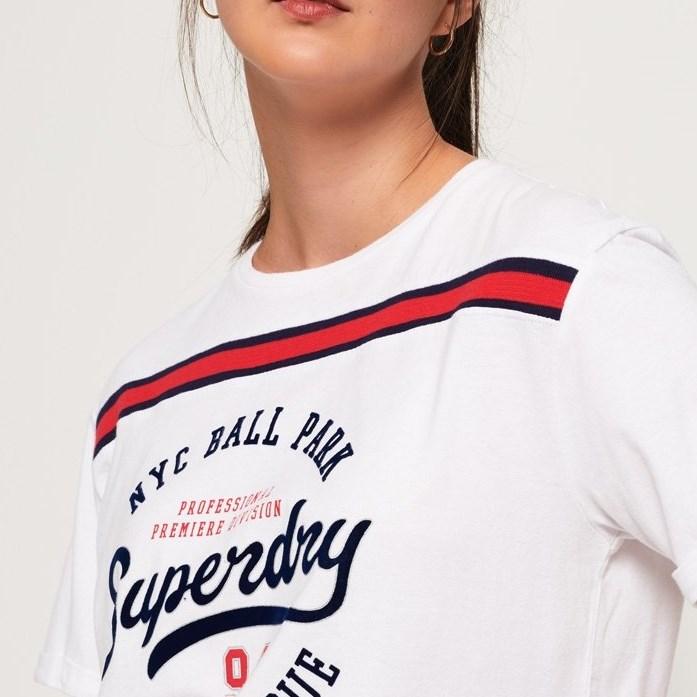Superdry Urban Logo Tee - 26c optic white