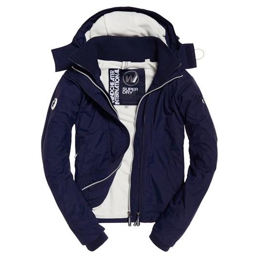 Superdry Arctic Hooded Pop Zip Windcheat
