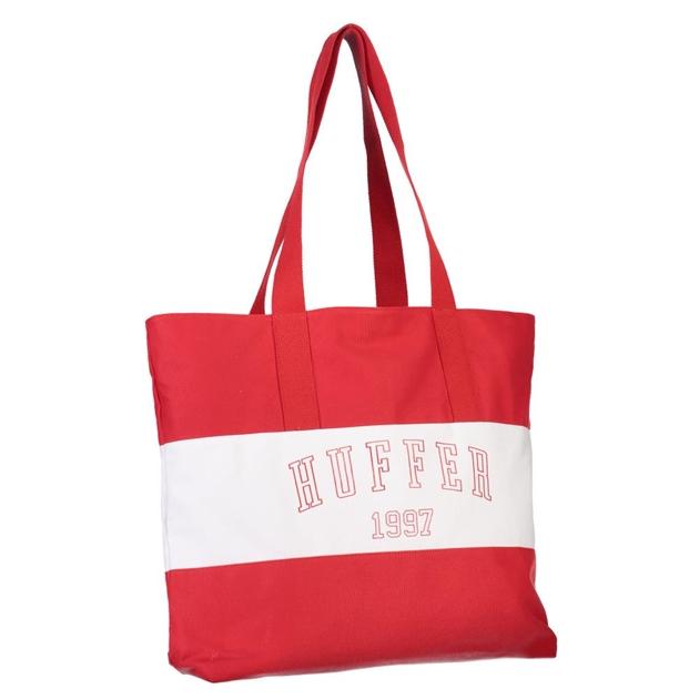 Huffer Beach Tote/Academic - red