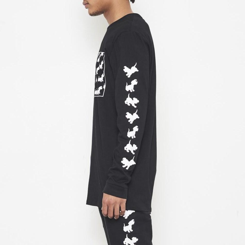 Nana Judy Disney Crew Ls T-Shirt - black