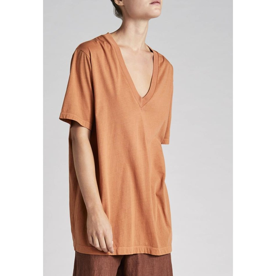 Jac + Jack Mia Tee - leather