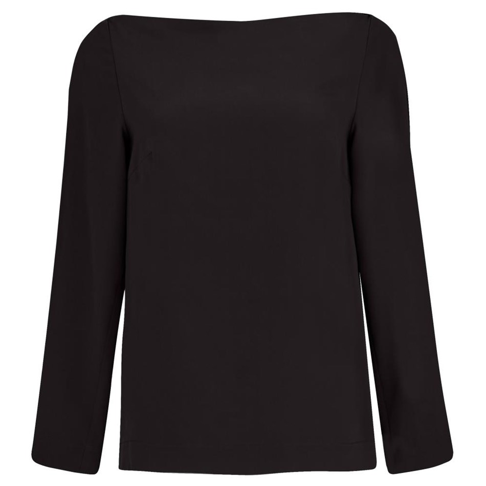 Juliette Hogan Margeaux Top  - black