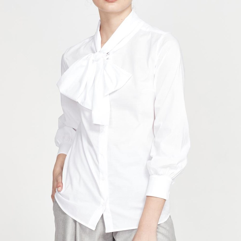 Juliette Hogan Marjorie Shirt - white