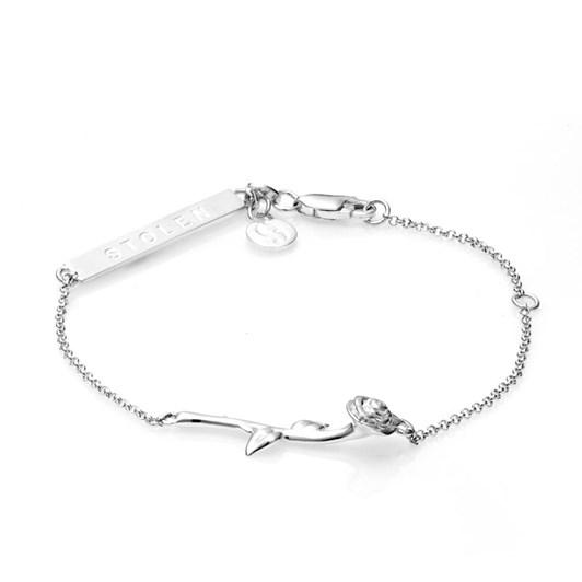 Stolen Girlfriends Club Rose Bar Bracelet
