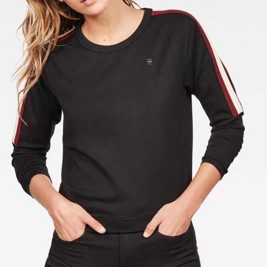 G-Star Nostelle Stripe Sweatshirt Wmn L\S