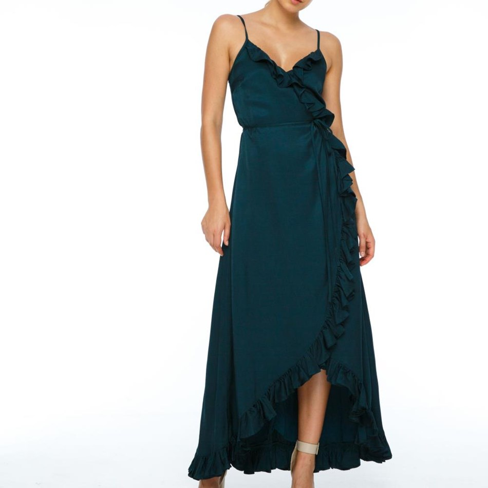 Blak Daisy Dress - emerald