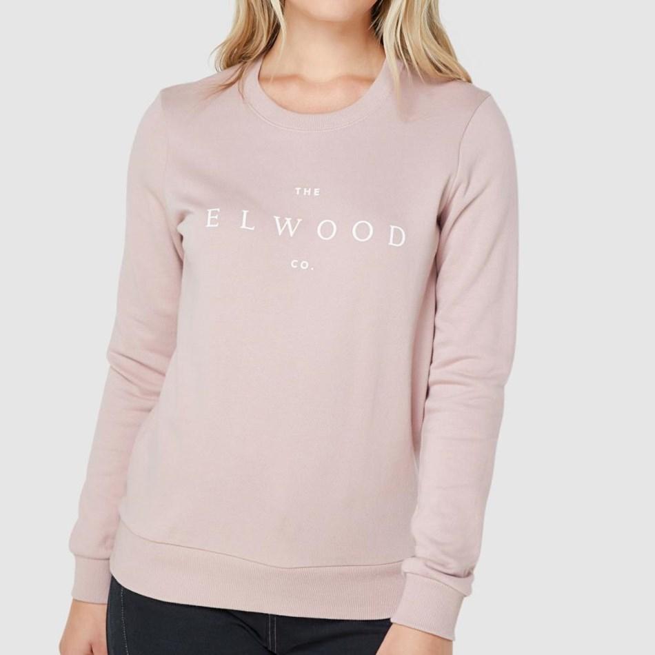 Elwood Co. Crew - mauve