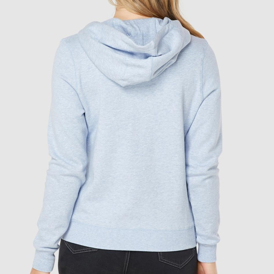 Elwood Bray Pullover Hoodie - chambray marle