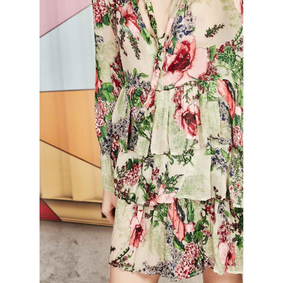 Coop Sealed With A Bow Dress - floral
