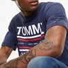 Tommy Jeans Essential Reflection Tee - black iris