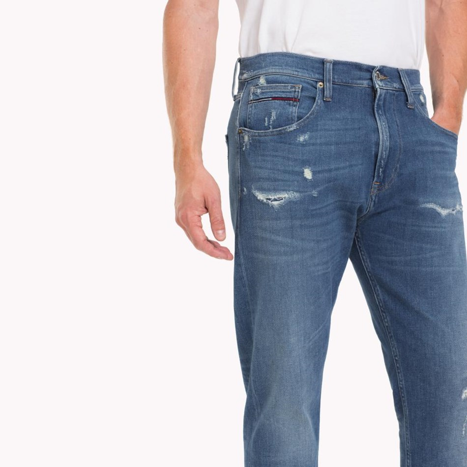 Tommy Jeans Modern Tapered Tj 1988 - perry mid blue