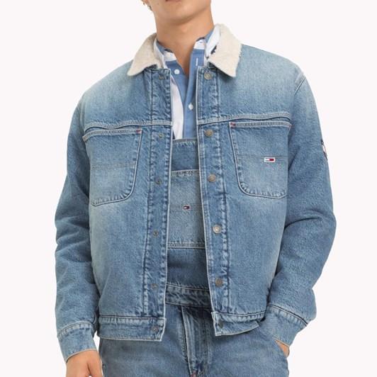 Tommy Jeans Oversize Sherpa Trucker