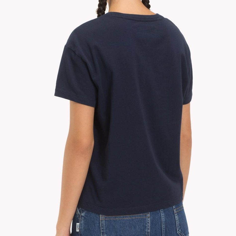 Tommy Jeans Satin Detail Tee -