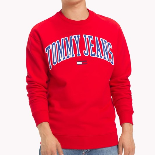 Tommy Jeans Clean Collegiate Crew