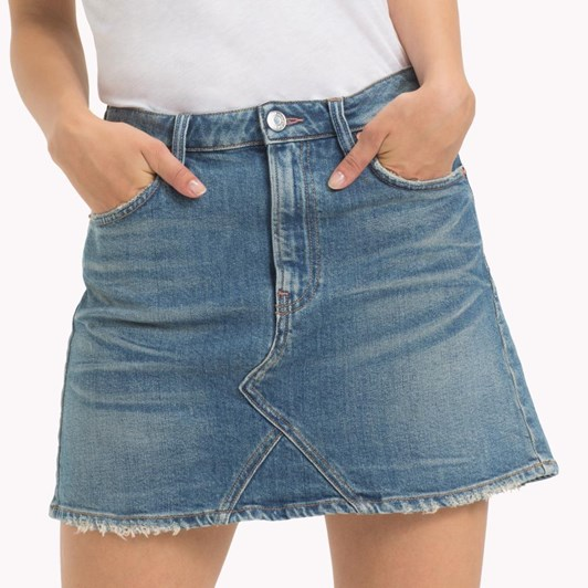 Tommy Jeans Short Denim Skirt