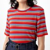 Sylvester Stripey Tee - red