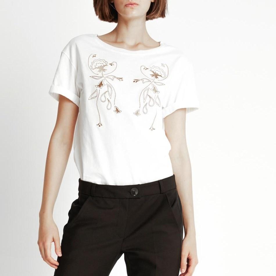 Sylvester Cowboy T-Shirt - ivory