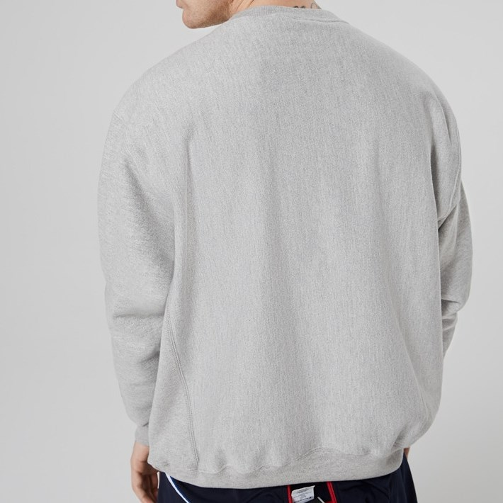 Champion Reverse Weave Crew - a44 oxford grey