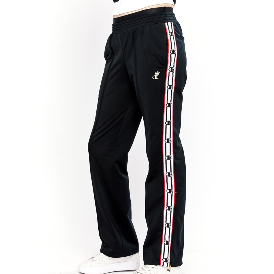 Champion Track Pant W/Gold - dlf blk wht red