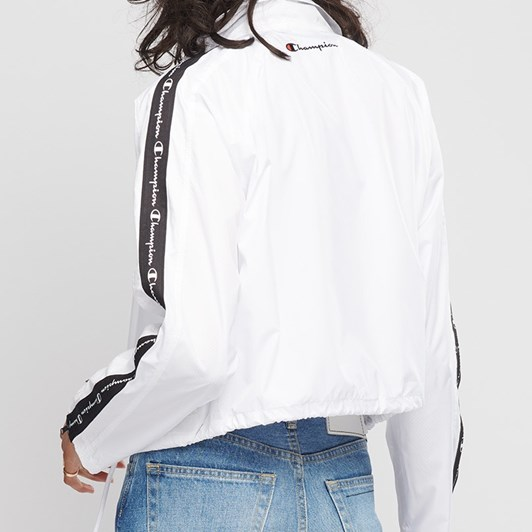Champion Cropped Coaches Jacket W/ Tape