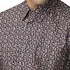 Ben Sherman L/S Multicolour Floral Shirt  - camel
