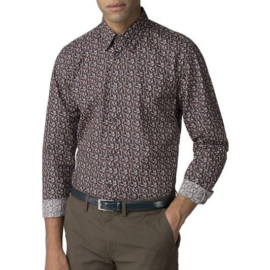 Ben Sherman L/S Multicolour Floral Shirt