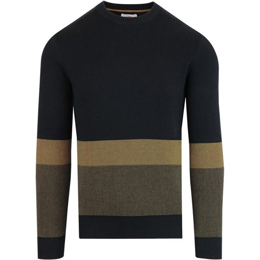 Ben Sherman Colour Block Crew Neck