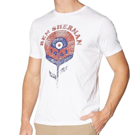 Ben Sherman Record Flower T-Shirt