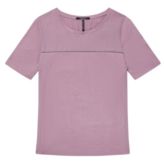 Maison Jersey Top With Panels