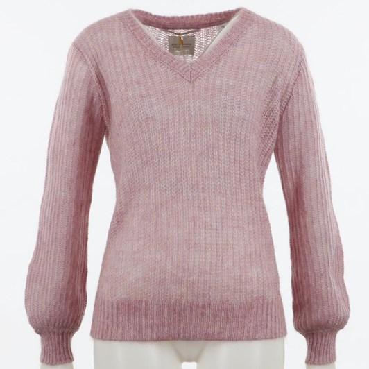 Maison Fluffy V-Neck Knit