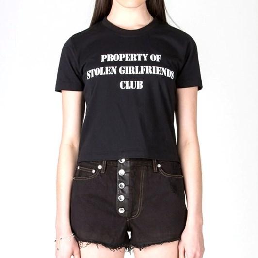 Stolen Girlfriends Club Property Print Retro Tee