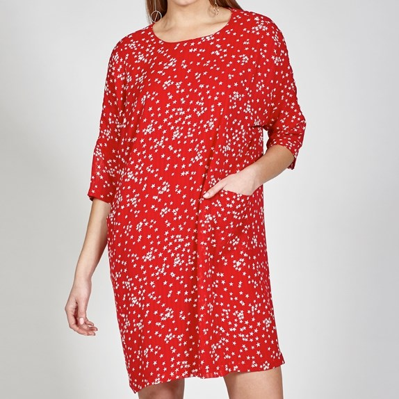 Ketz-Ke Sway Dress - red