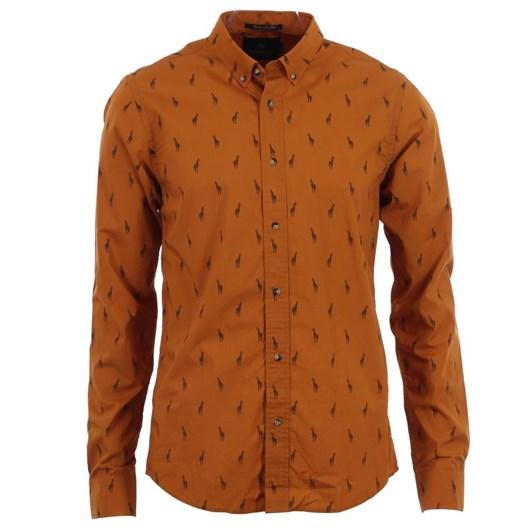 Scotch & Soda Longsleeve All-Over Printed Shirt