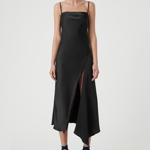 Camilla And Marc Acacia Square Neck Dress - black
