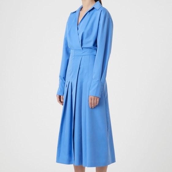 C & M Juliana Dress - blue