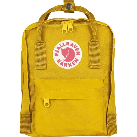 Fjallraven Kanken Mini Warm Yellow Backpack
