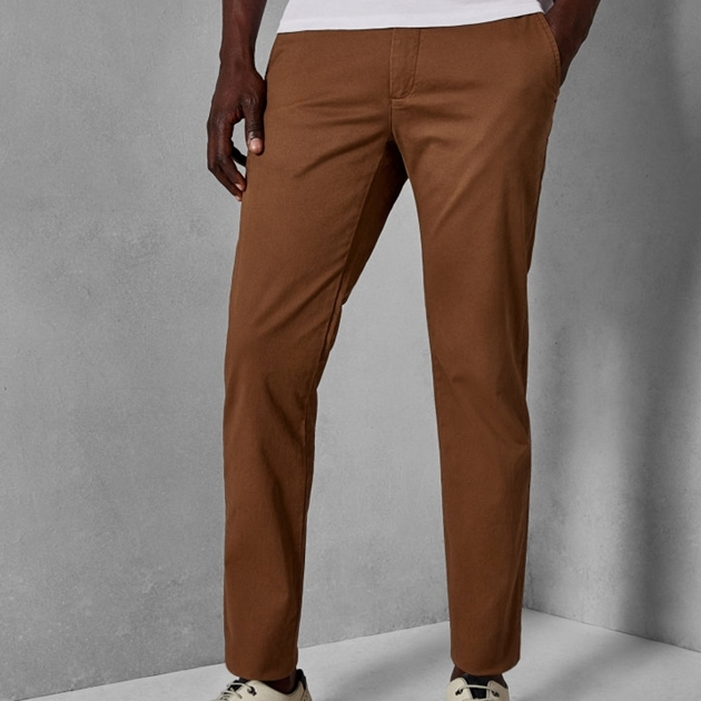Ted Baker Slim Fit Chinos - 27 tan