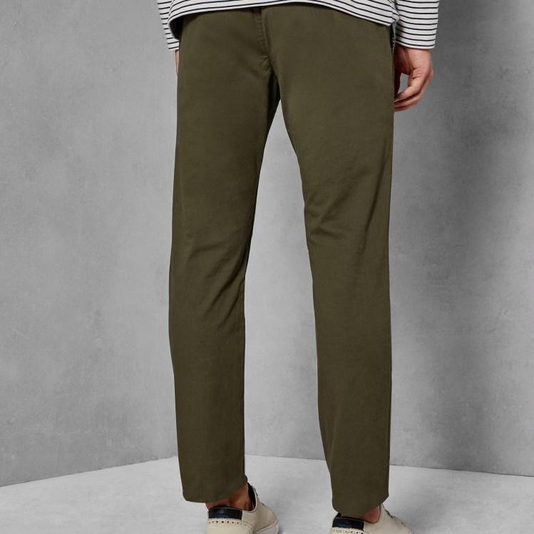 Ted Baker Slim Fit Chinos - 35 khaki