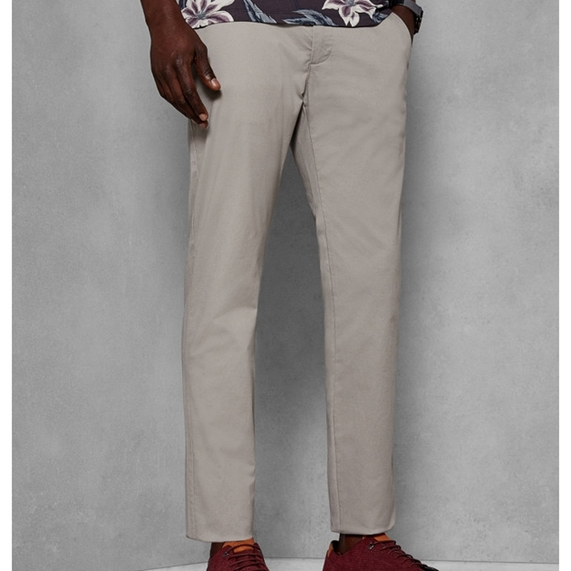 Ted Baker Slim Fit Chinos - 95 natural