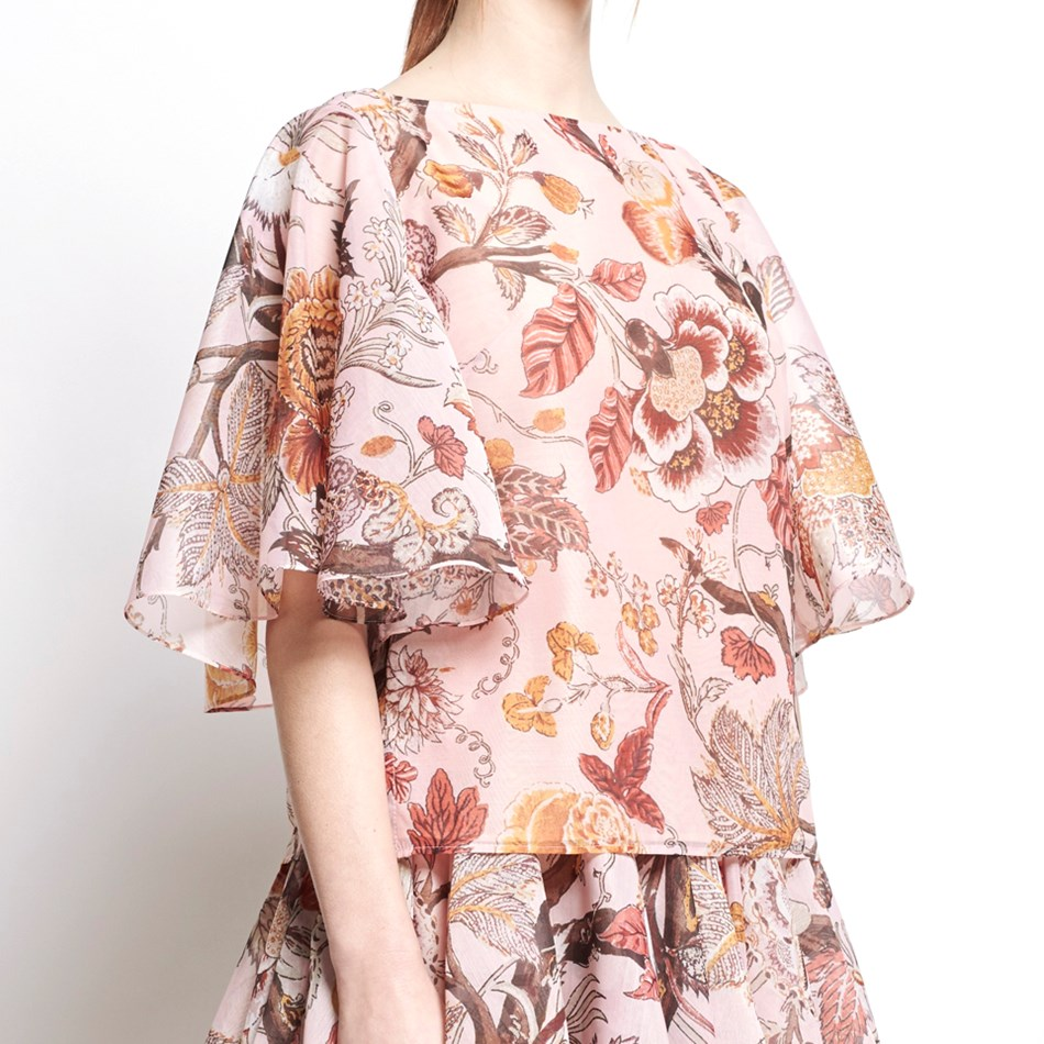 Karen Walker Maryland Top - light pink