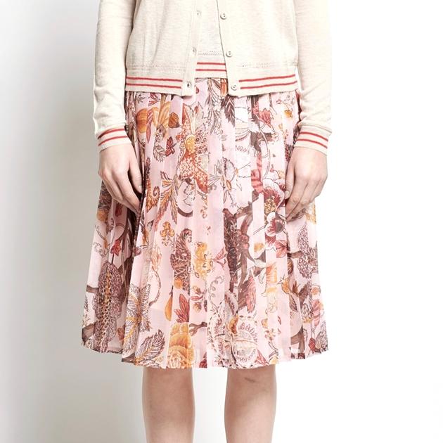 Karen Walker Charlotte Skirt - light pink
