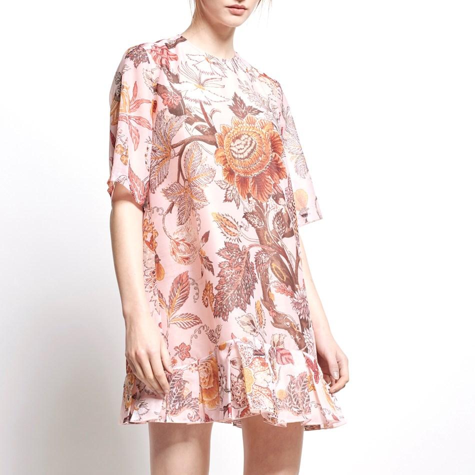 Karen Walker Charleston Dress - light pink