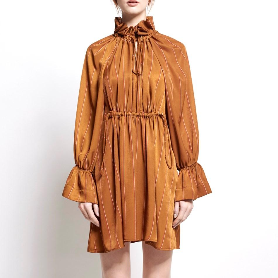 Karen Walker Seraphim Dress - chestnut