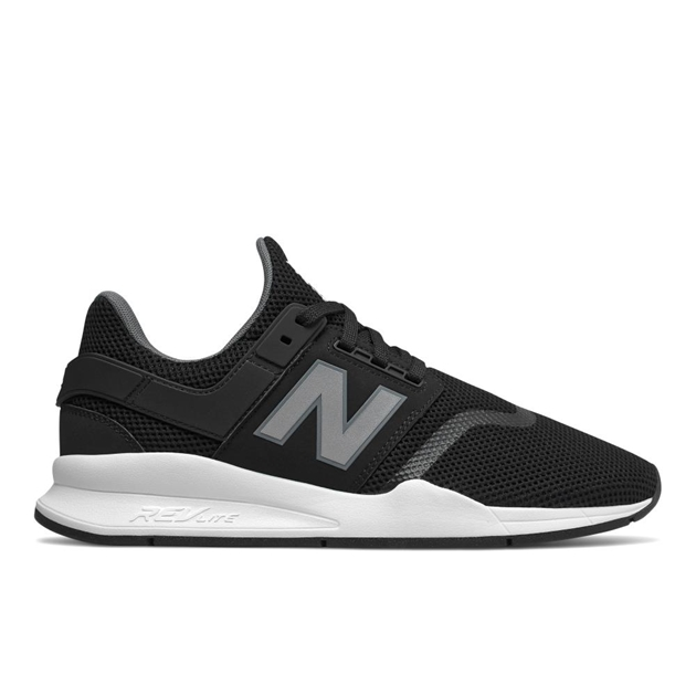 New Balance 247V2 Sport Trainer - blk wht synth
