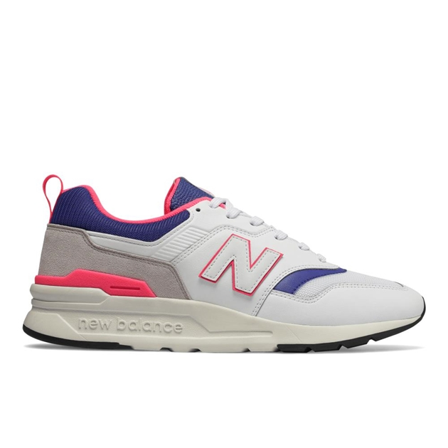New Balance 997H Global Energy Moment Trainer - wht pnk blu lthr