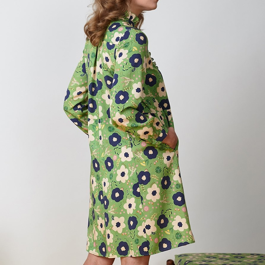 Twenty Seven Names Austin Dress - green floral