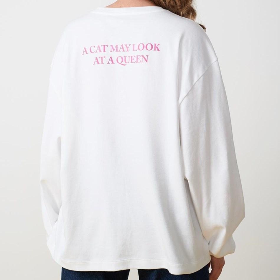 Twenty Seven Names Purpose Long-Sleeved Tee - white